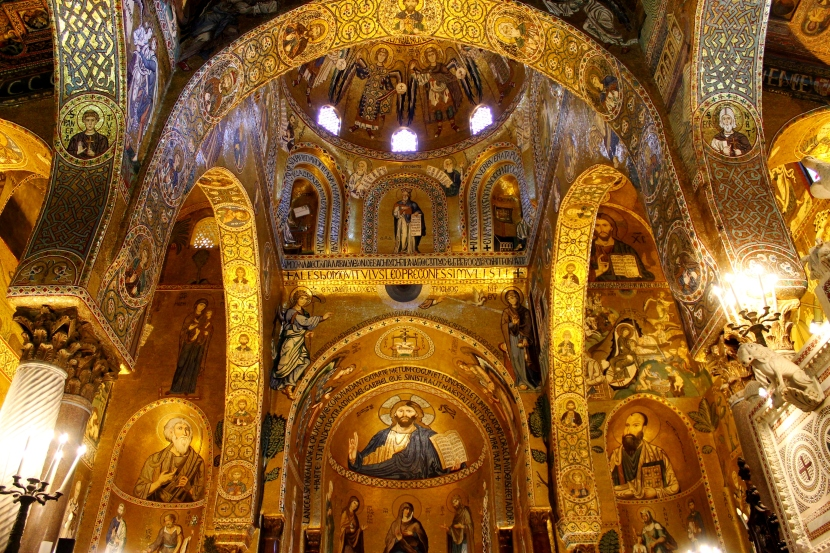 Cappella Palatina - The Chapel of Gold